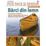 Barci din lemn. 8 tipare in marime naturala