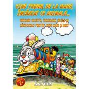 Vine trenul de la mare, incarcat cu animale