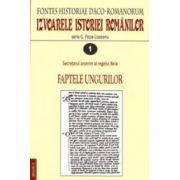 Izvoarele istoriei romanilor. Fontes historiae Daco-Romanorum (4 vol.)
