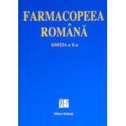 Farmacopeea romana. Editia a X-a