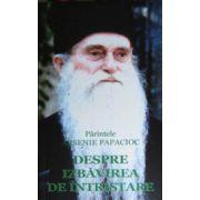 Despre izbavirea de intristare - Pr. Arsenie Papacioc