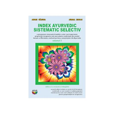 Index ayurvedic sistematic selectiv, vol. 2