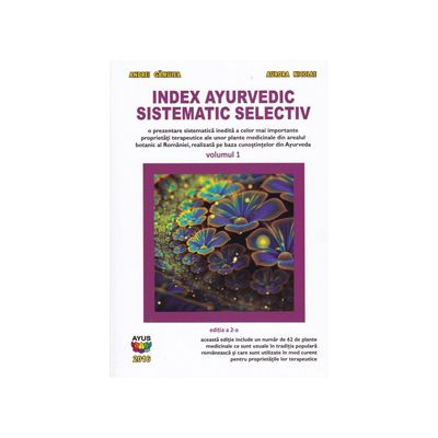 Index ayurvedic sistematic selectiv, vol. 1