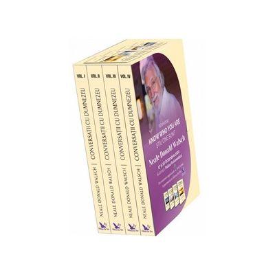 Conversatii cu Dumnezeu - Set volumele 1-4